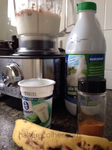 iogurte com banana